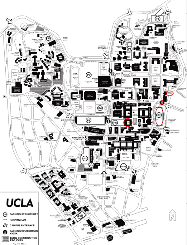Image Result For Ucla Campus Map